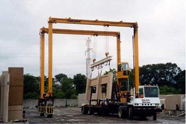Rubber Tyred Gantry Cranes Translate : What is gantry crane do you know how to choose the type